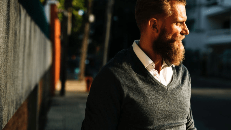 business casual mens wear