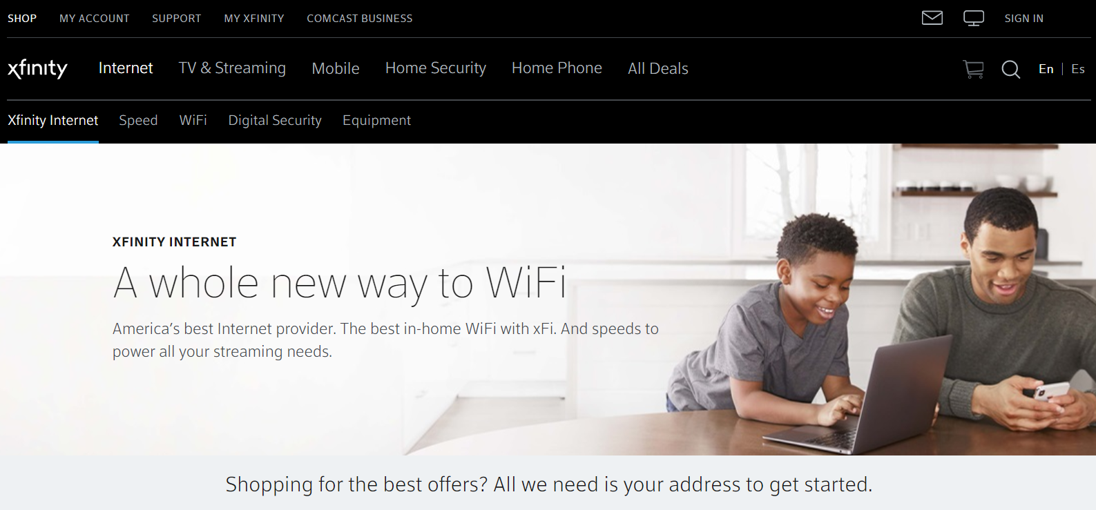 xfinity business internet