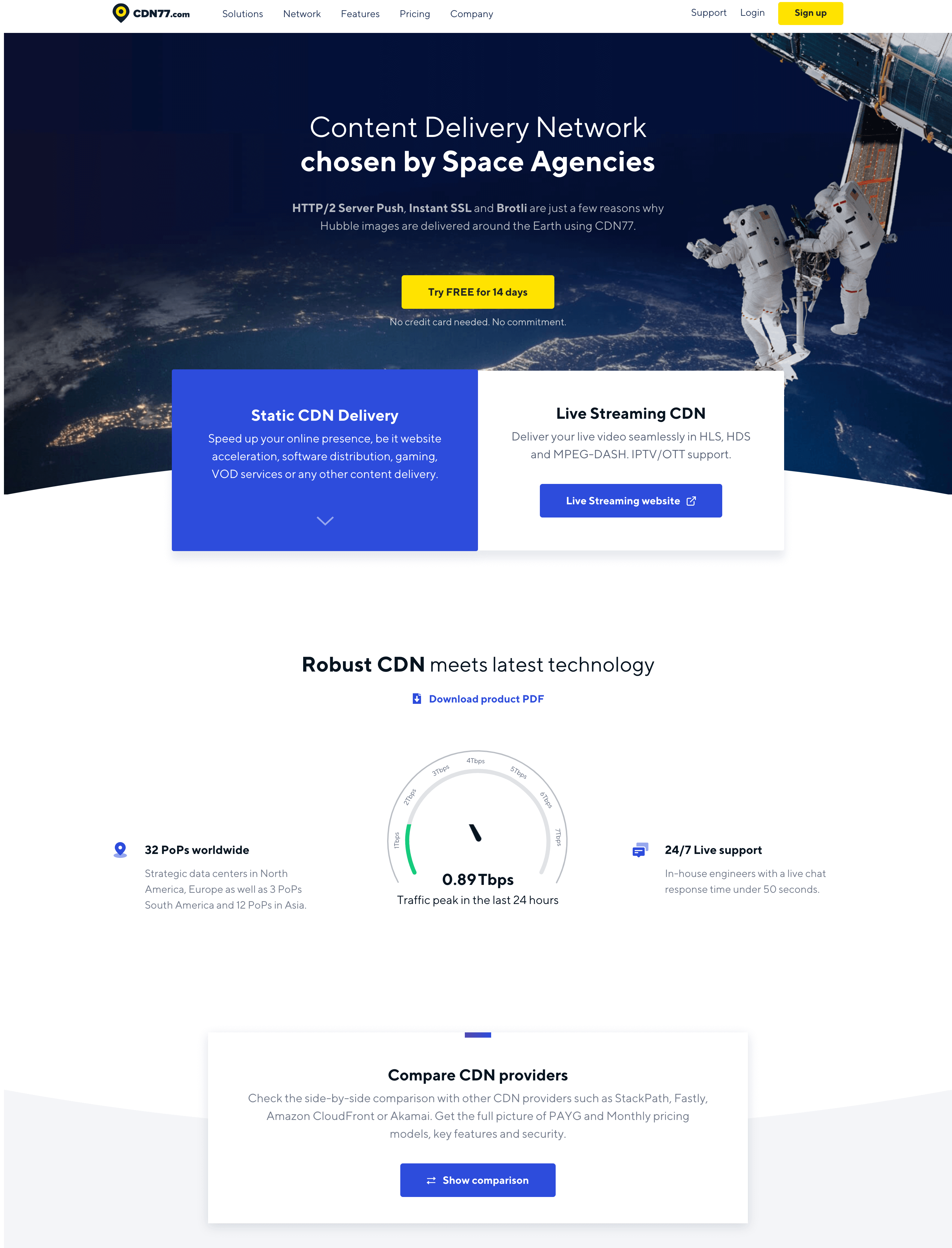 cdn77-homepage