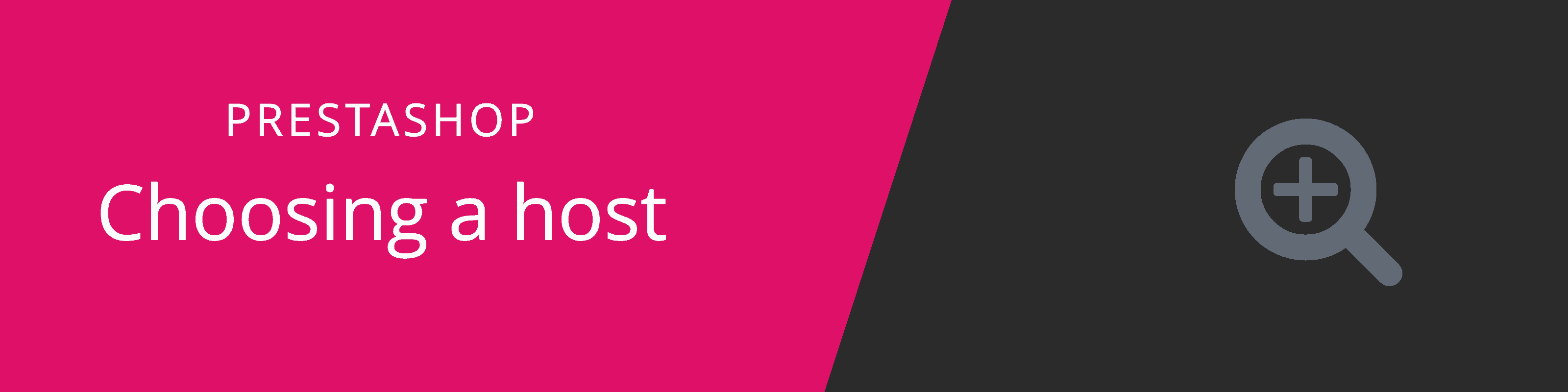 choosing prestashop host