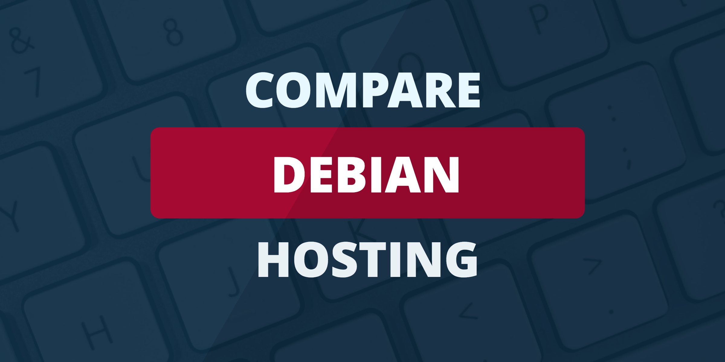 compare debian hosting