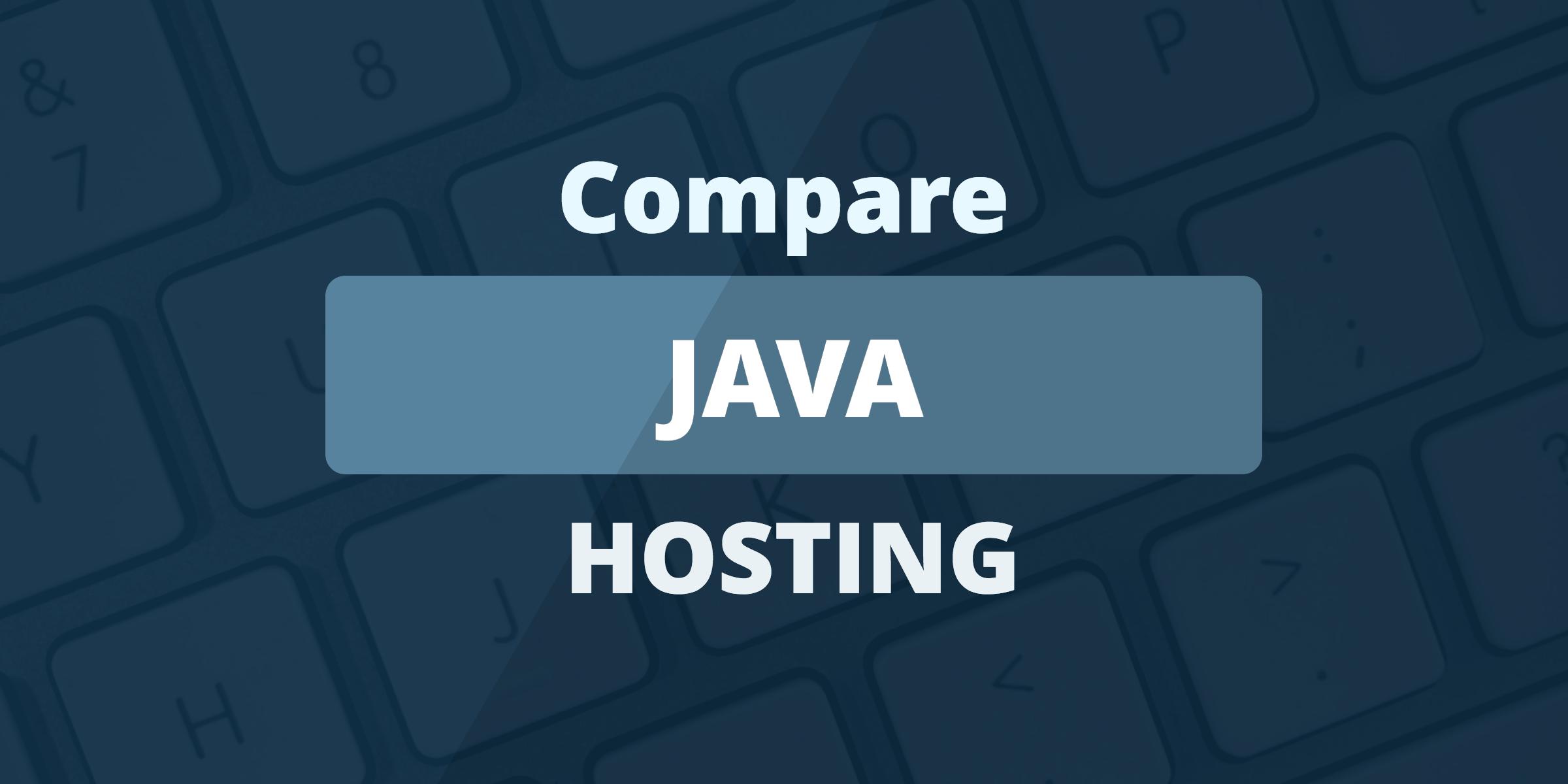 compare java hosting