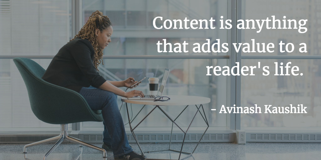content adds value