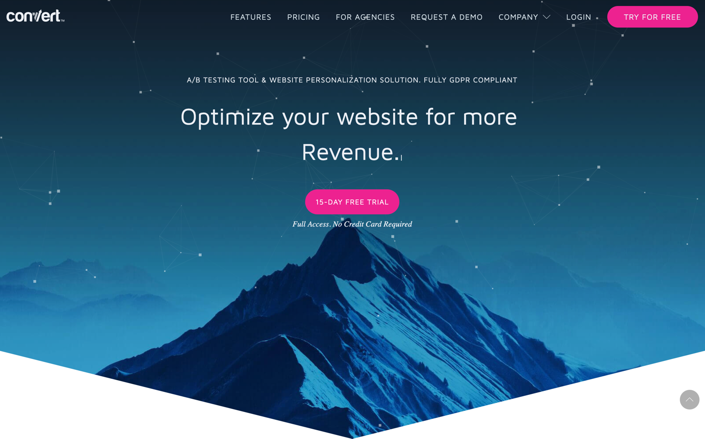 convert homepage