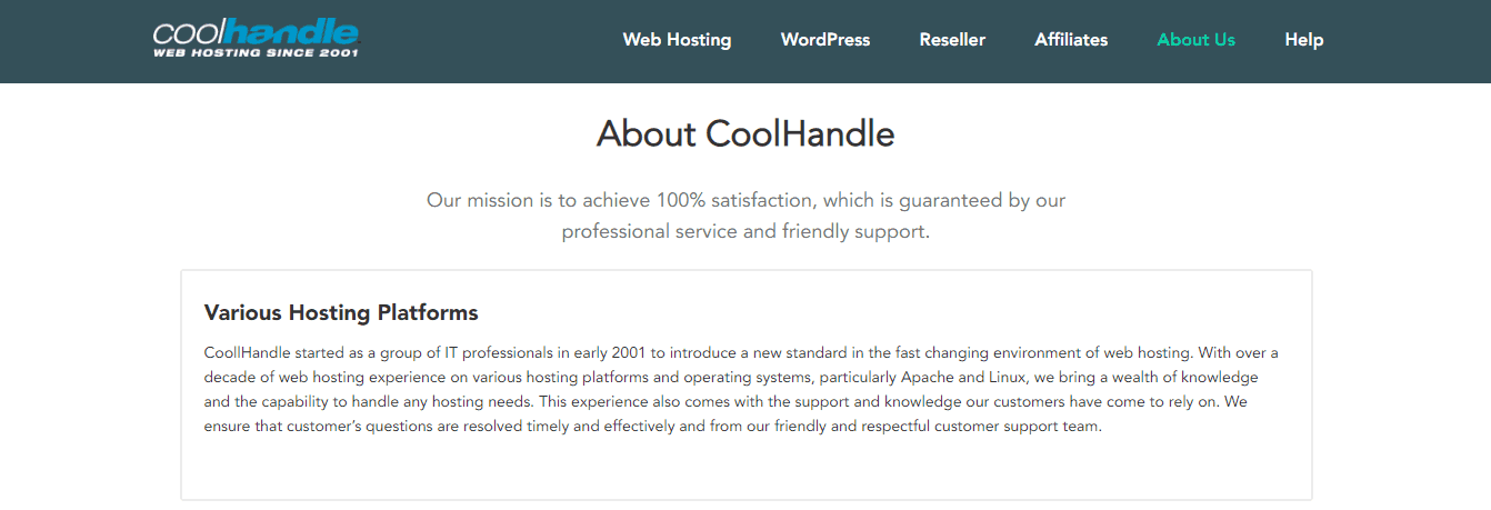 CoolHandle Info