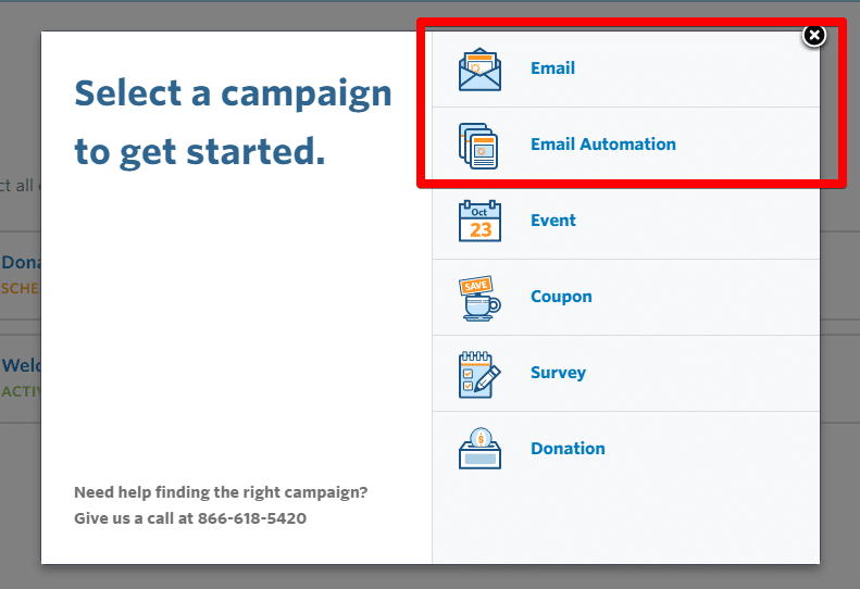 Create email options