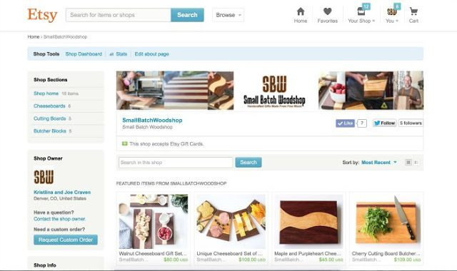 create an etsy store