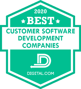 Best Custom Software Development Companies of 2020 Badge