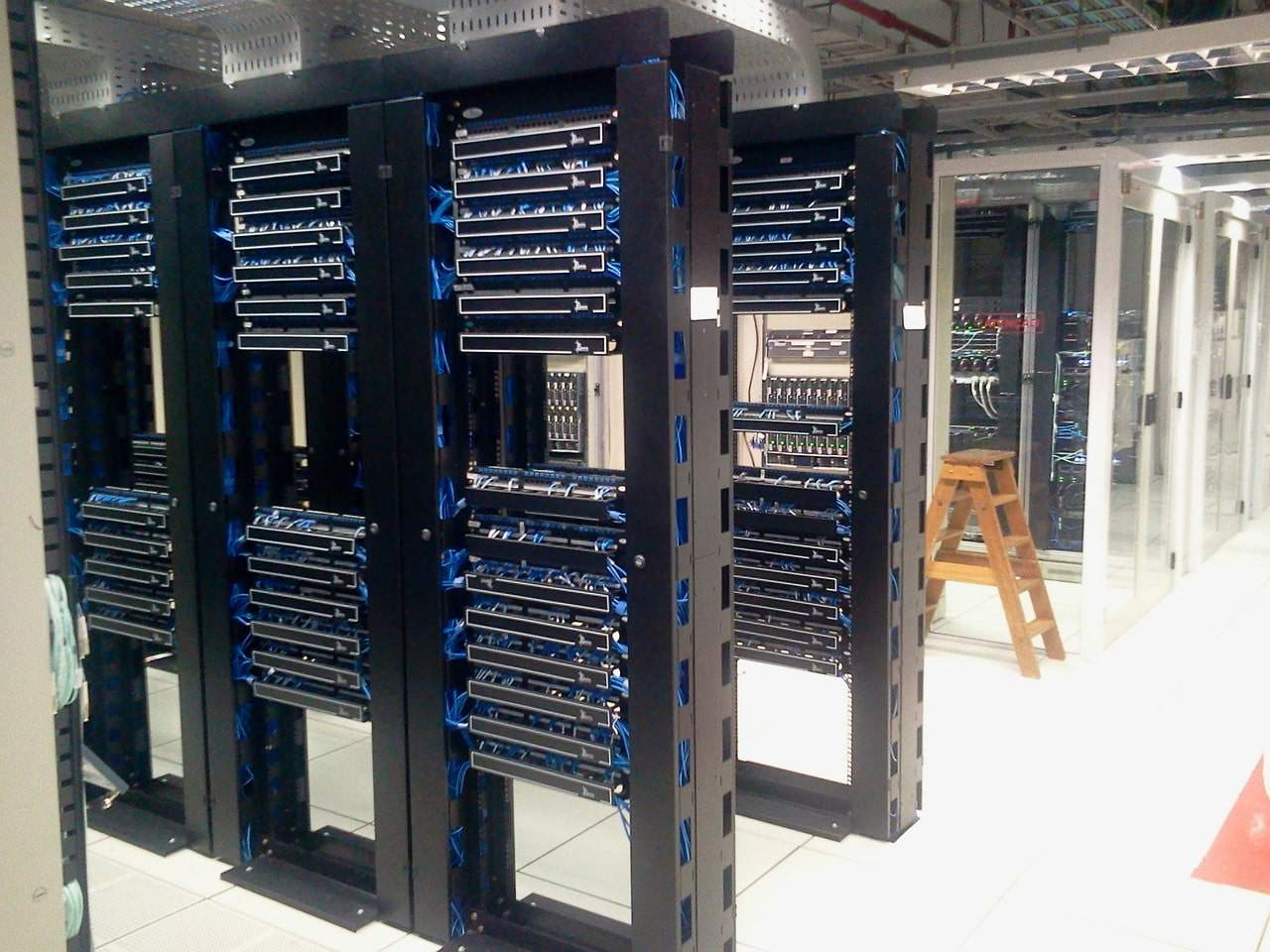 Servers in a data center