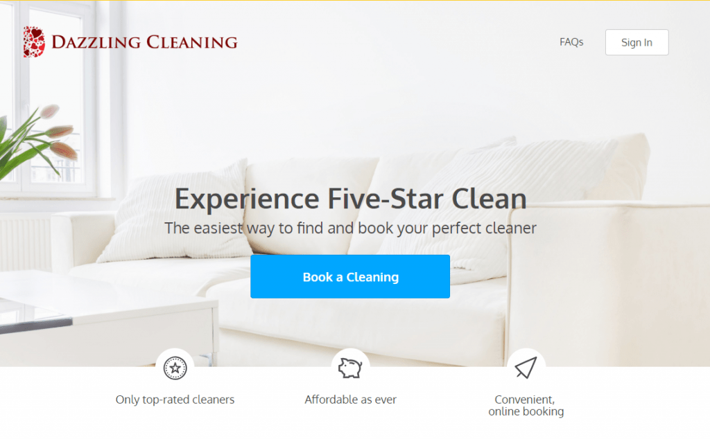 dazzling cleaning uvp