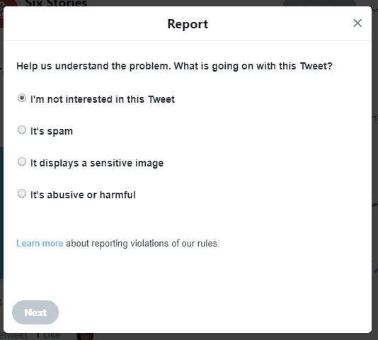 how to get a picture deleted from twitter