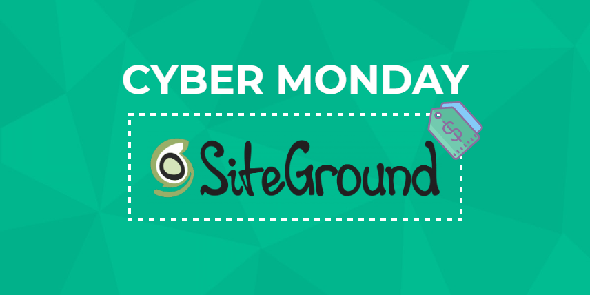 SiteGround Cyber Monday