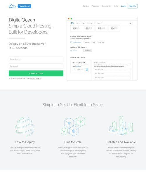 DigitalOcean reviews