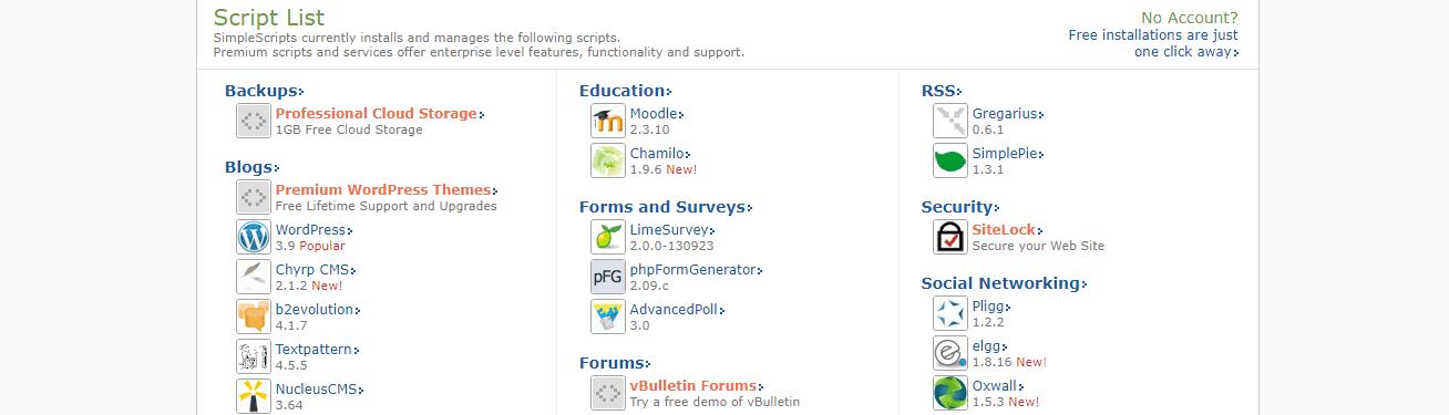 Domain.com Scripts