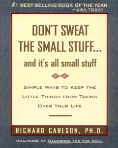 Don't Sweat the Small Stuff book cover