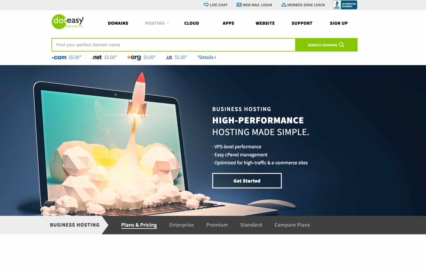 Doteasy Hosting Review: Everything You Need to Launch Your Business