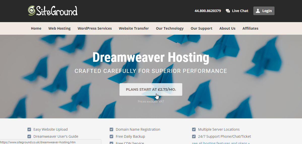 The Best Dreamweaver Hosting: Who's The Best For Your Site