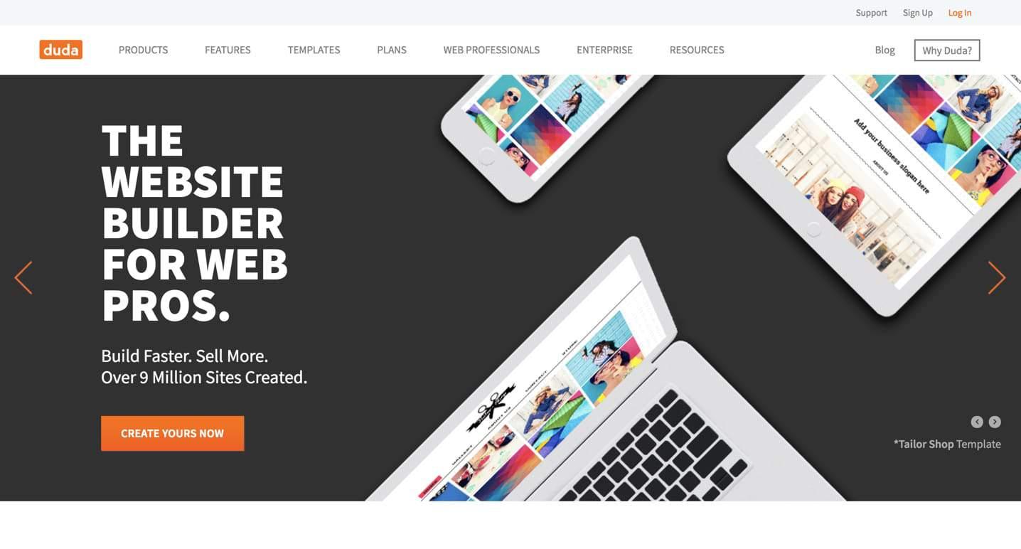 Duda Sitebuilder: Good for Agencies, Publishers, Hosts  But