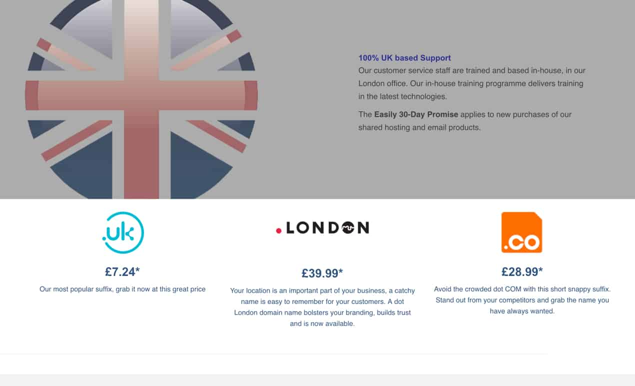 easily.co.uk review email services