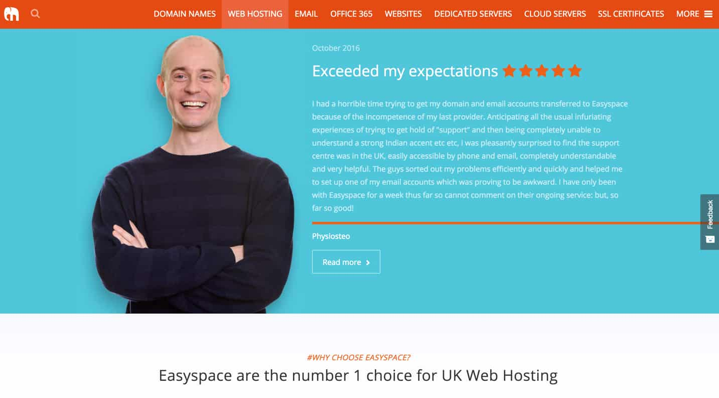 easyspace review