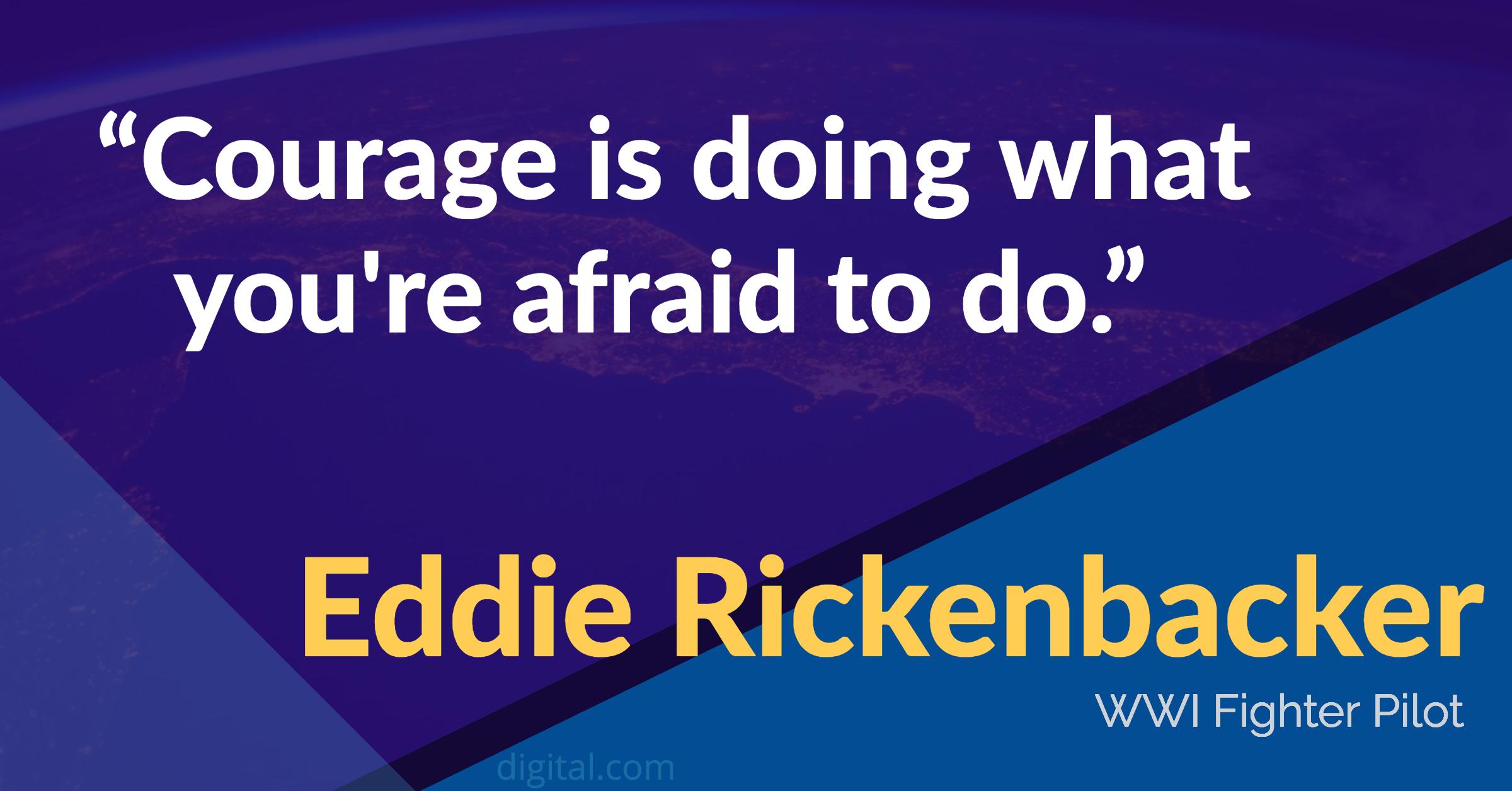 eddie rickenbacker leadership quotes