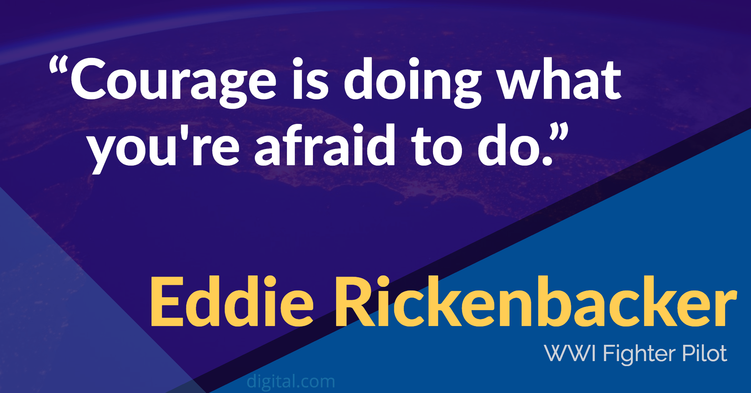 eddie rickenbacker leadership quotes