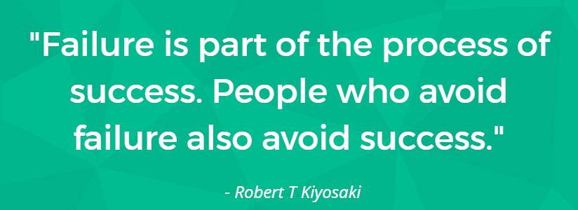 failure is part of success