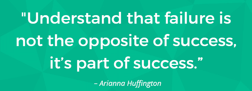 failure is not the opposite of success