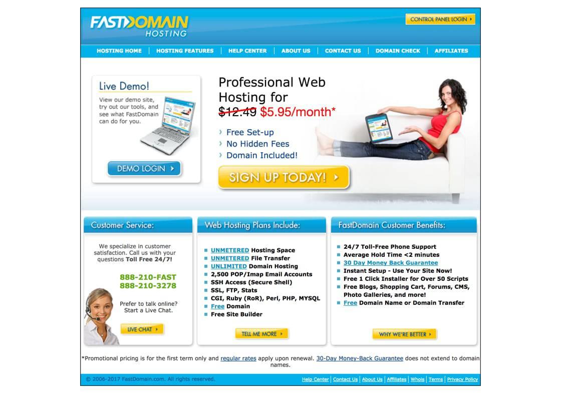 FastDomain review