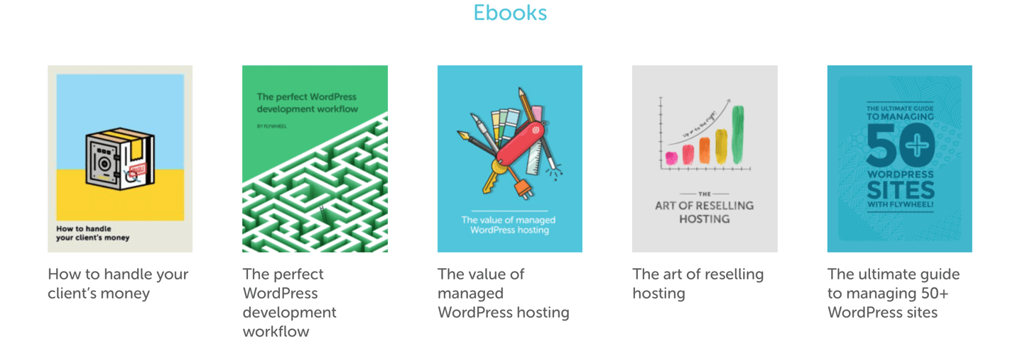 flywheel hosting ebook library