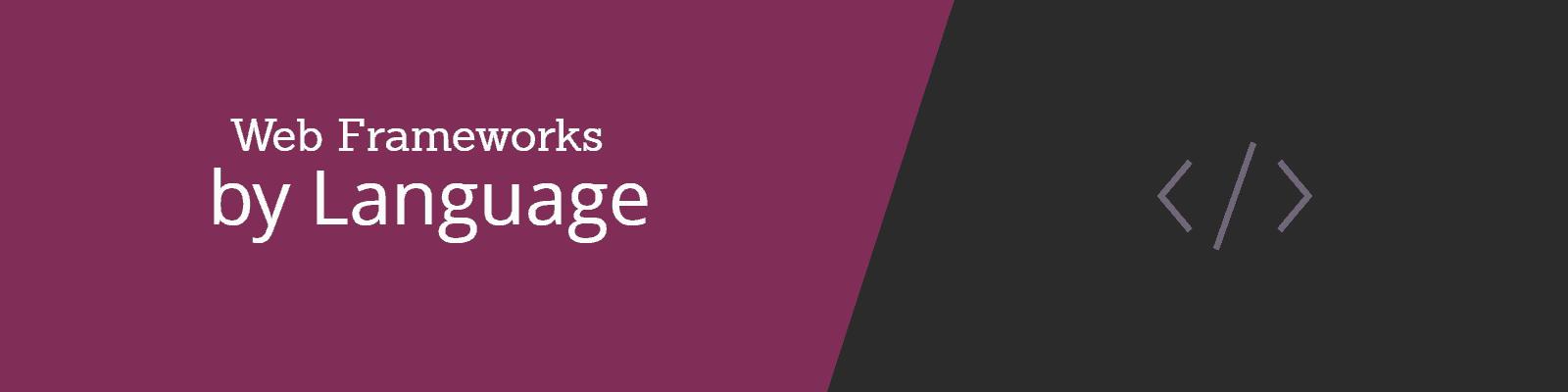 Framework by Language
