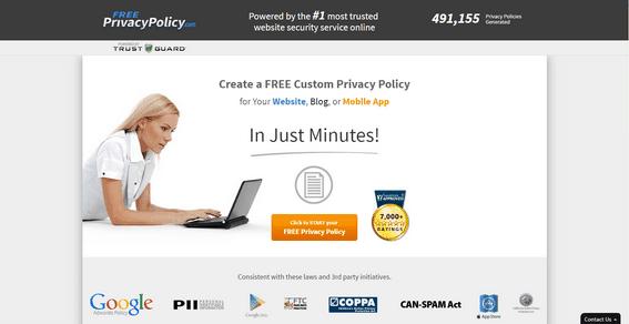 freeprivacypolicy.com generator