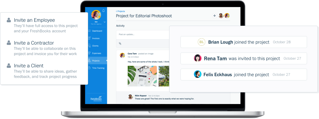 freshbooks projects