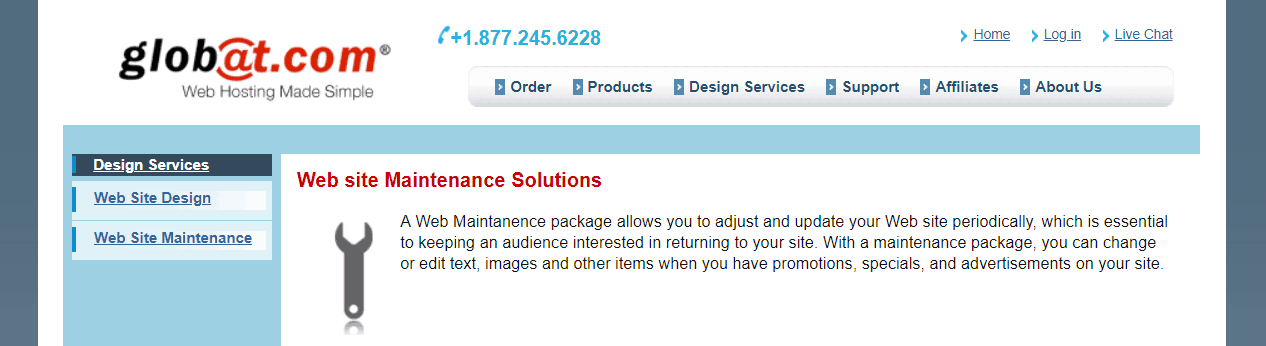 Globat Maintenance