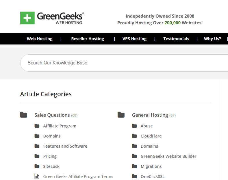 green geeks screenshot
