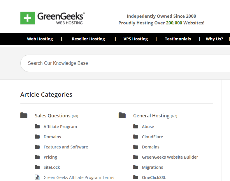 green geeks screenshot