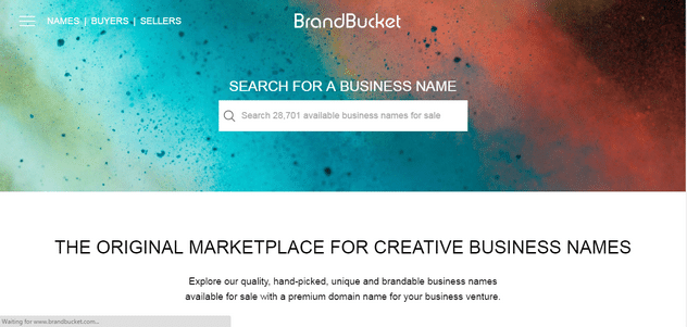 BrandRoot hand picket business name marketplace