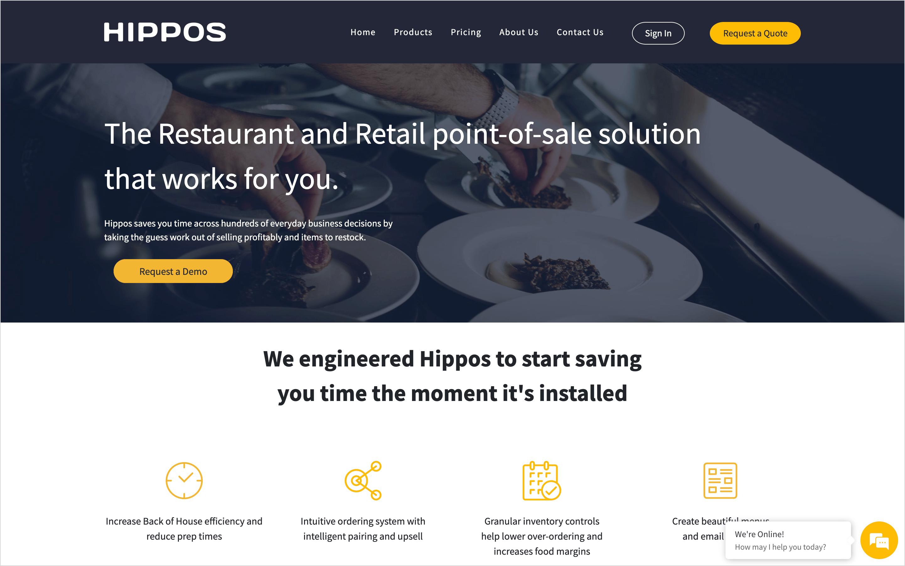 hippos homepage