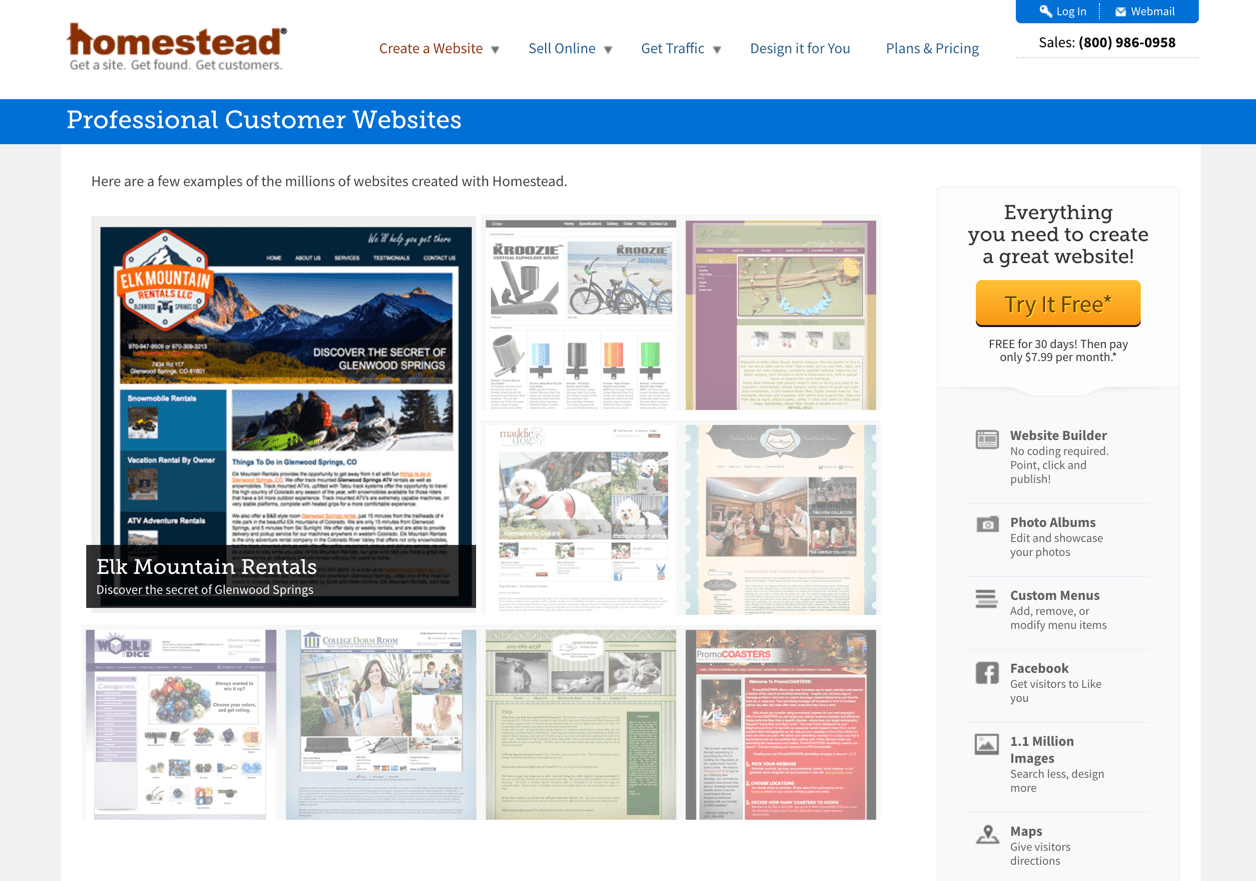 How to add an image slideshow to homestead website |.