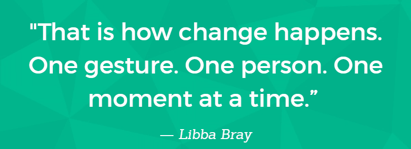 how change happens quote