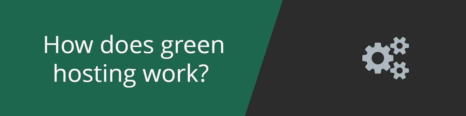 how does green hosting work