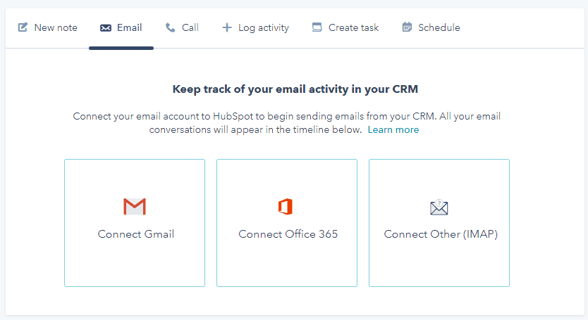hubspot crm email