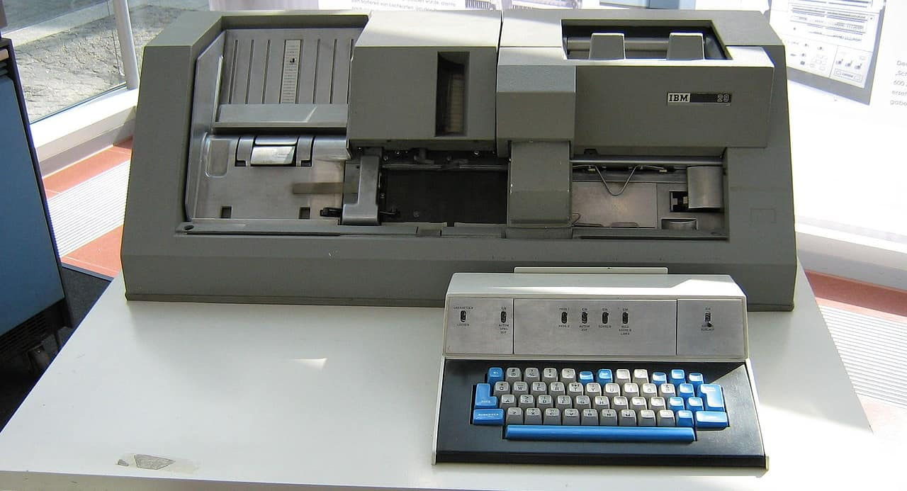 IBM Card Punch Station 029