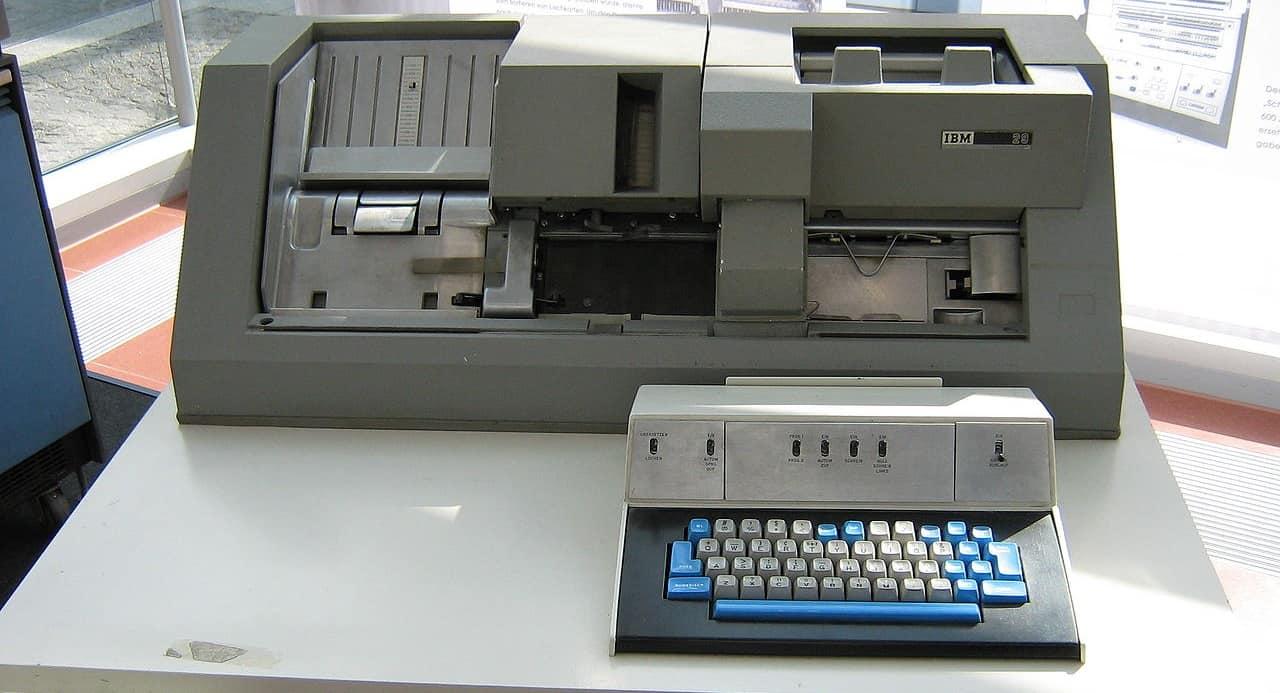 IBM Card Punch Station 029