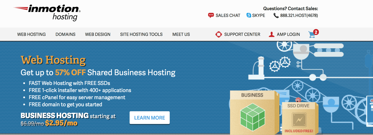 inmotion-hosting-multiple-domains