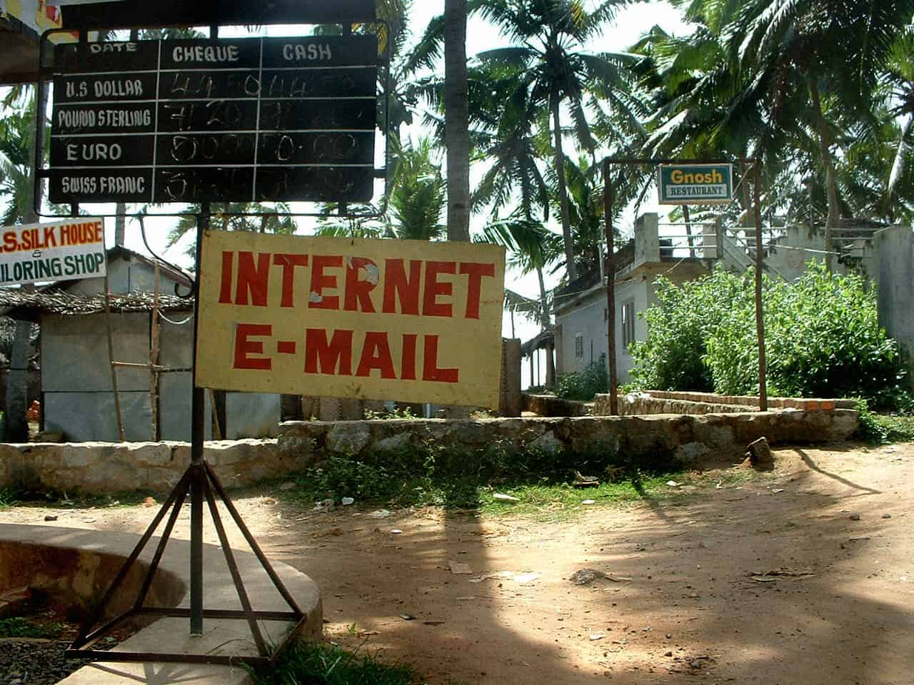 Internet Email Sign