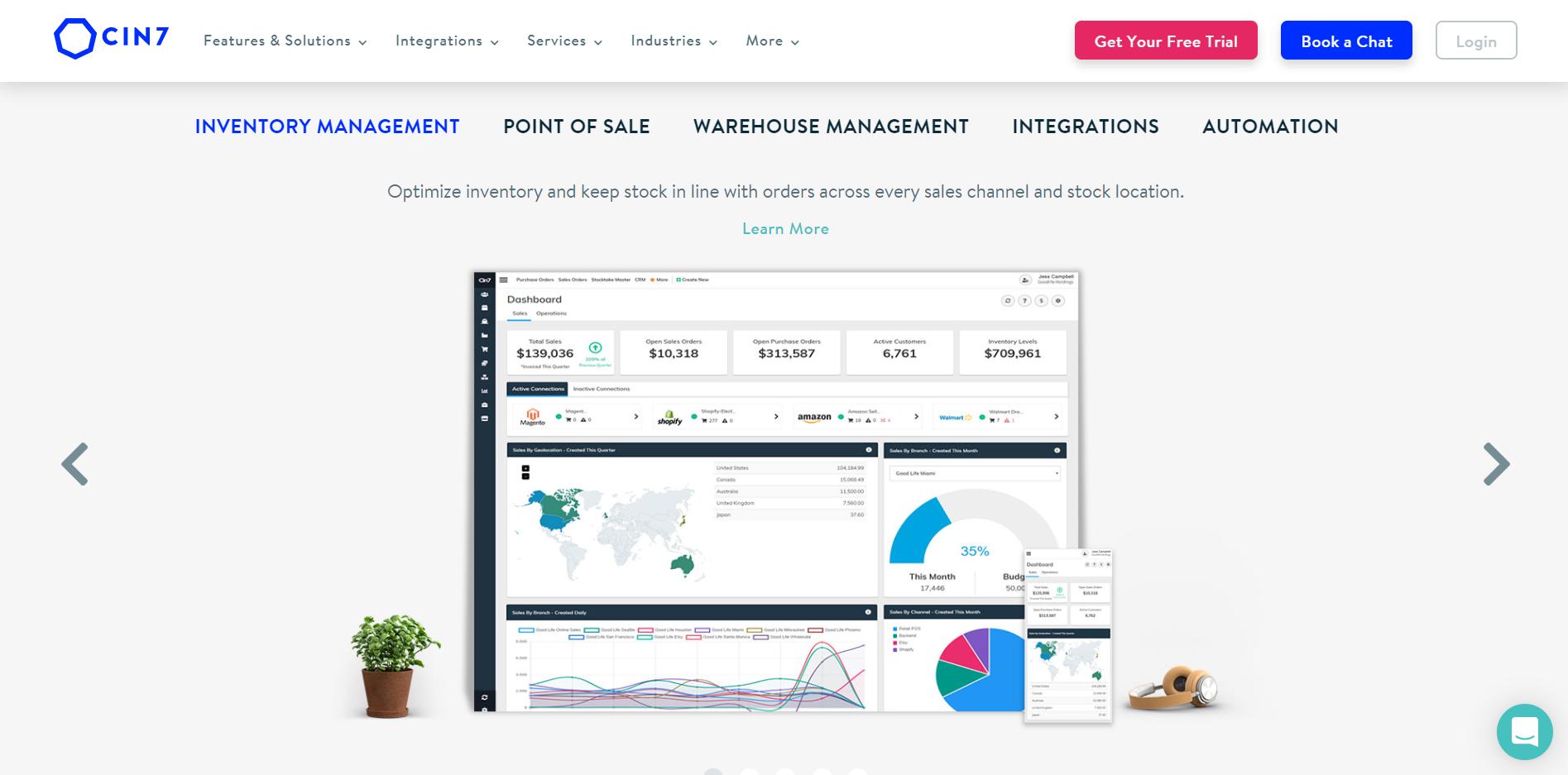 cin7 inventory management software