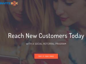 invitebox homepage