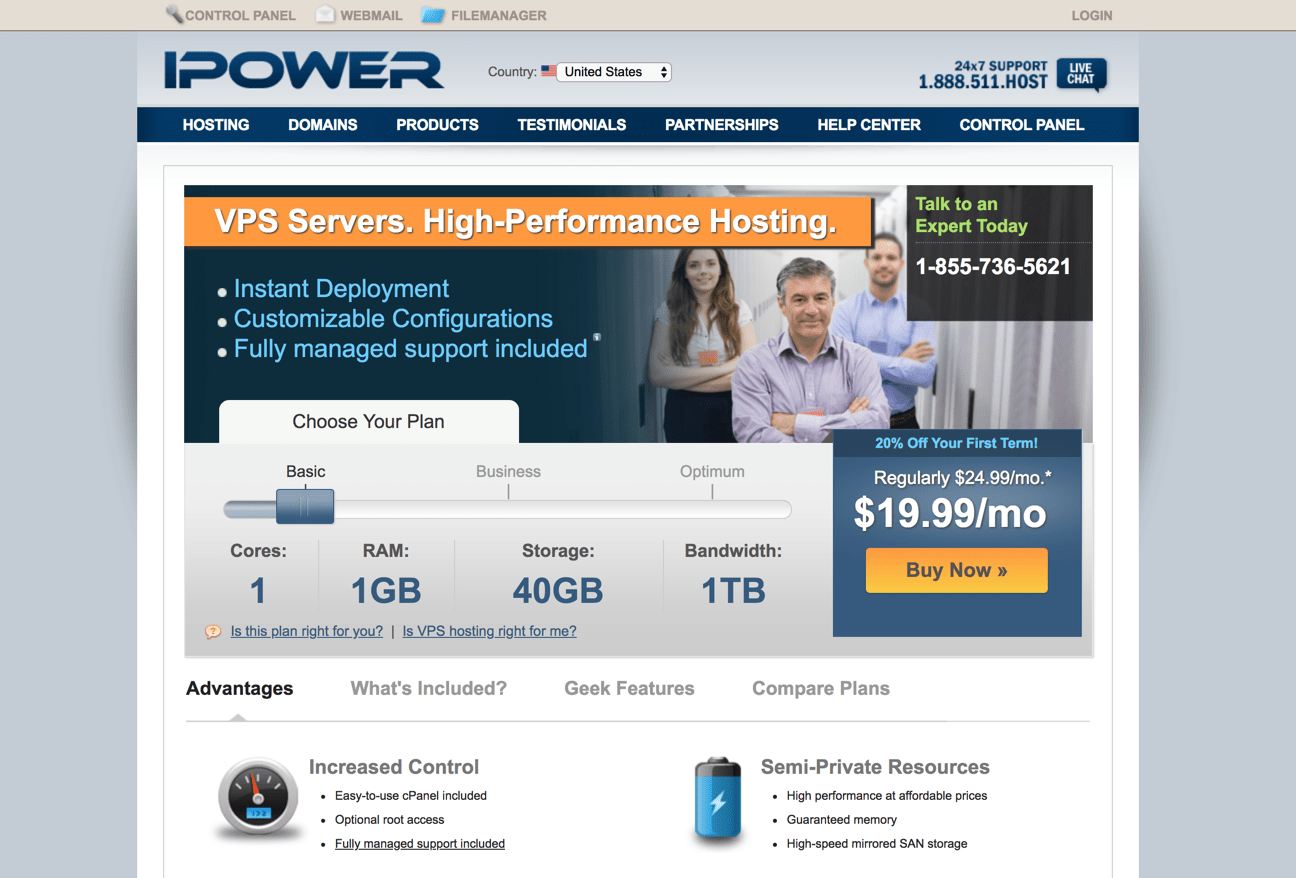 ipower vps