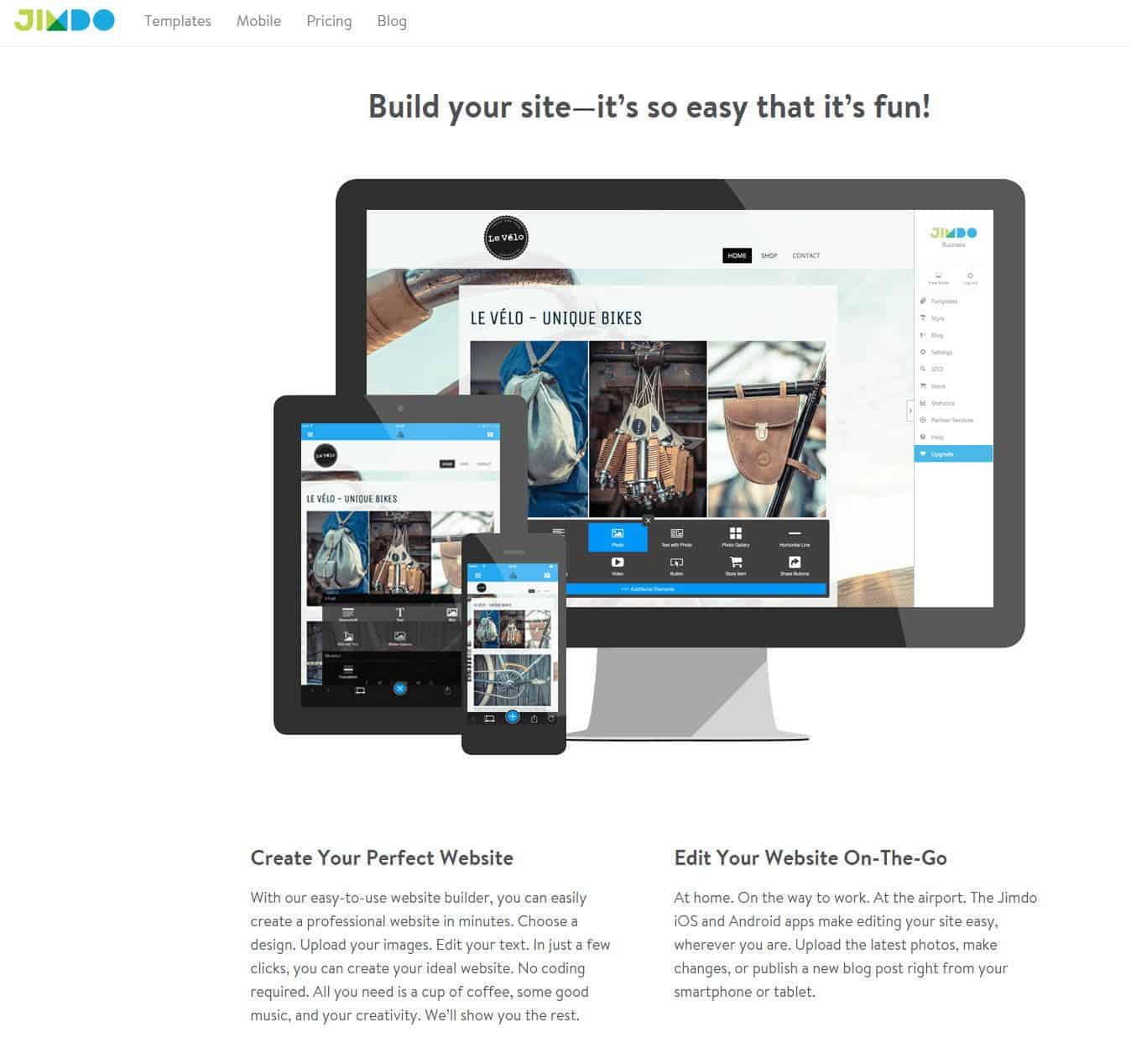 jimdo-homepage